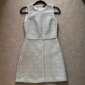 Theory, size 0 blue and white dress